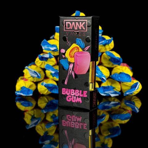 bubble gum dank vapes cartridges