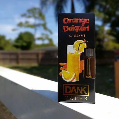 Orange Daiquiri DANK Vapes