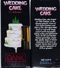 dank vapes wedding cake